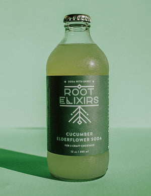 Cucumber Elderflower Soda- Set of 2