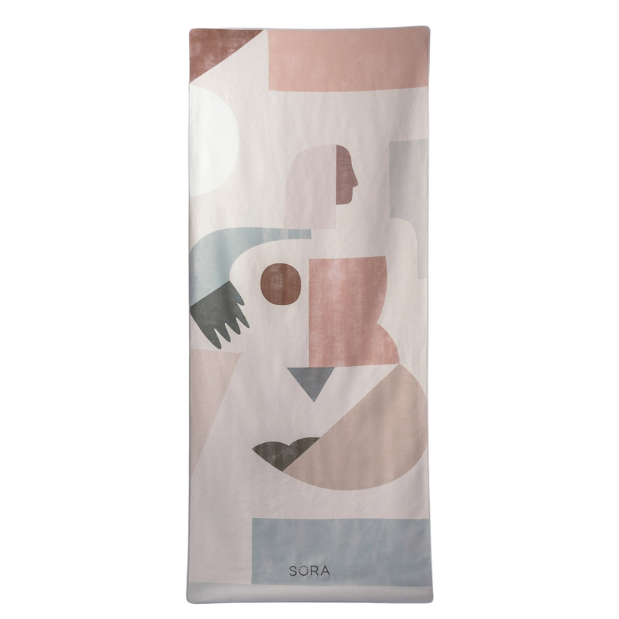 Geometry Recycled Towel- Beach + Yoga + Camping