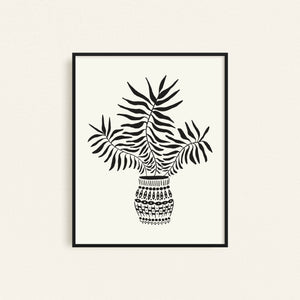 Healthy Palm Art Print