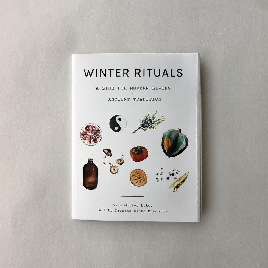 Winter Rituals Zine- Physical + Digital Copy