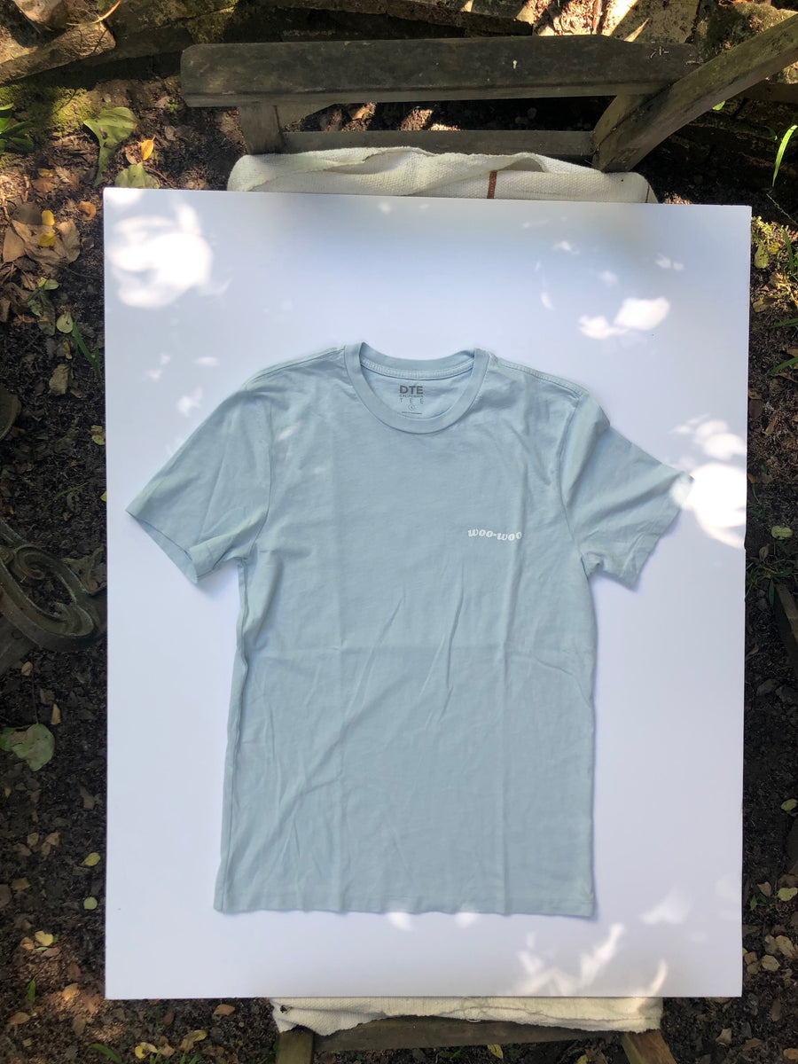 Woo Woo Rattler Tee - Powder Blue