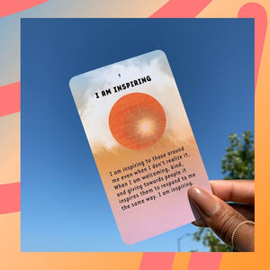 Affirmation Cards- Deck of 30