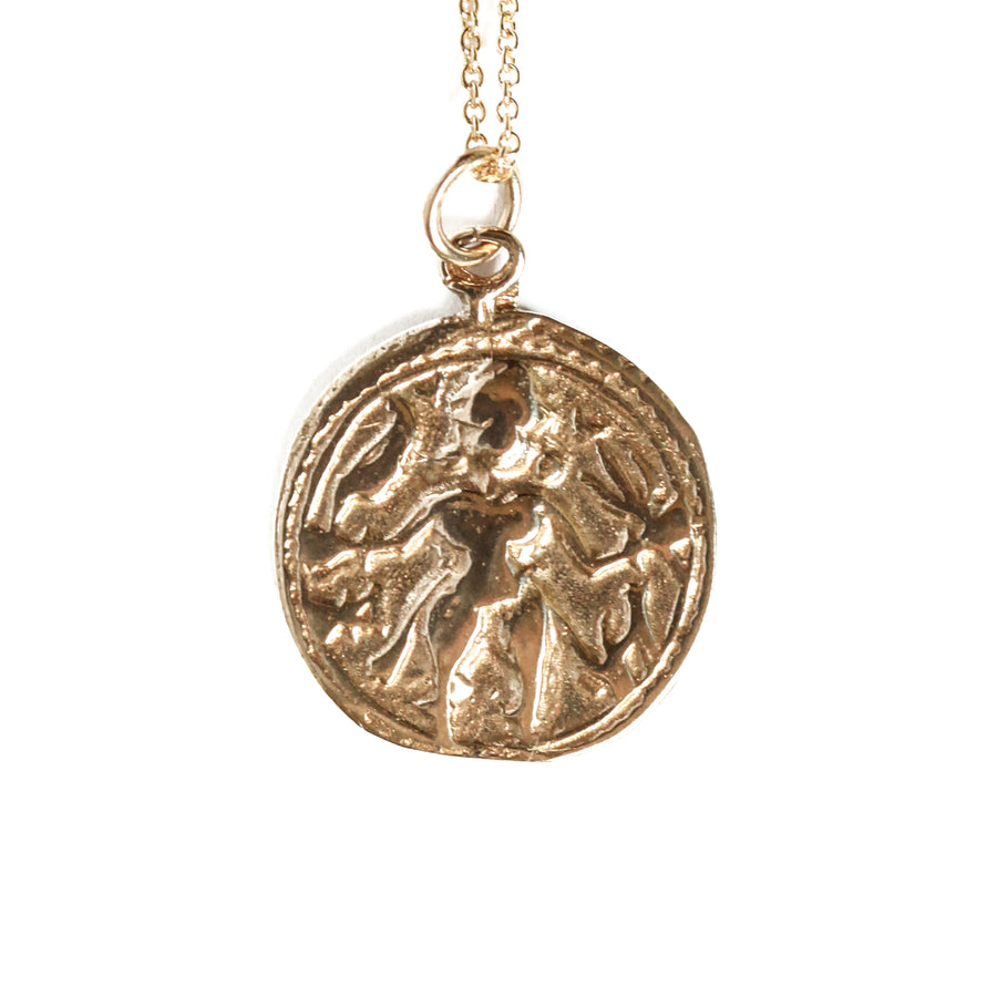 "Goddess Coin Necklace (18"")"