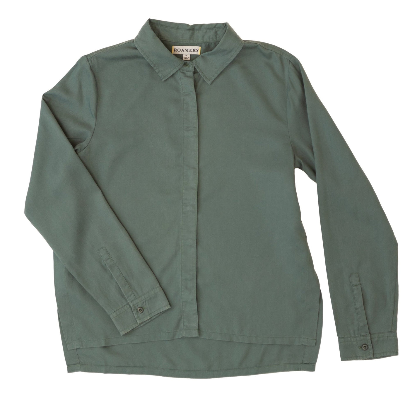 Monarch Button Up- Sage