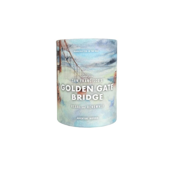 Golden Gate Candle: Sea Salt & Sage