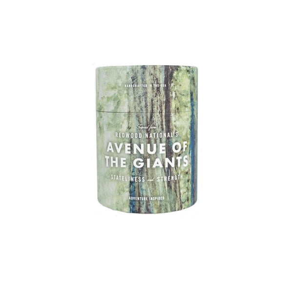 Avenue of Giants Candle: Coastal Redwood & Bay Laurel