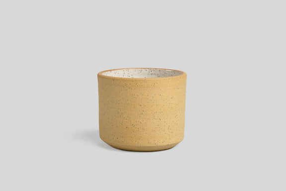 "Stoneware 5"" Planter (Raw Speckle)"