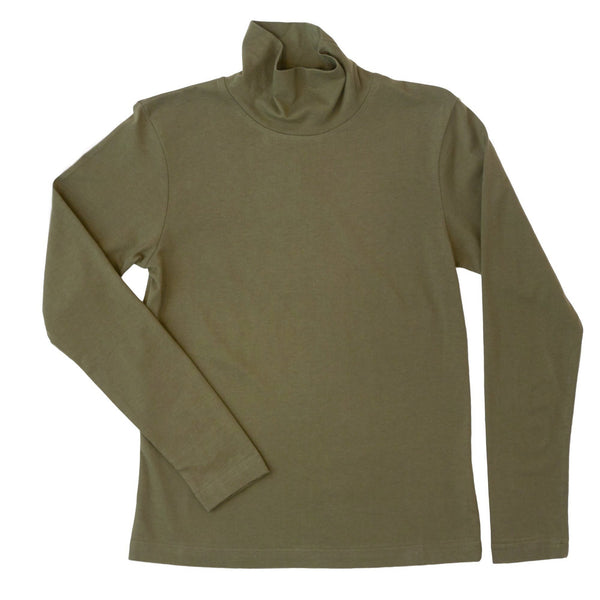 Oak Grove Turtleneck- Olive