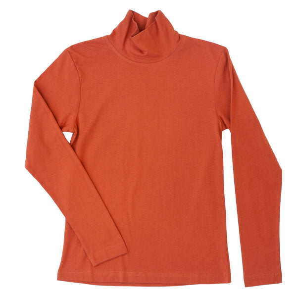 Oak Grove Organic Cotton Turtleneck- Sienna