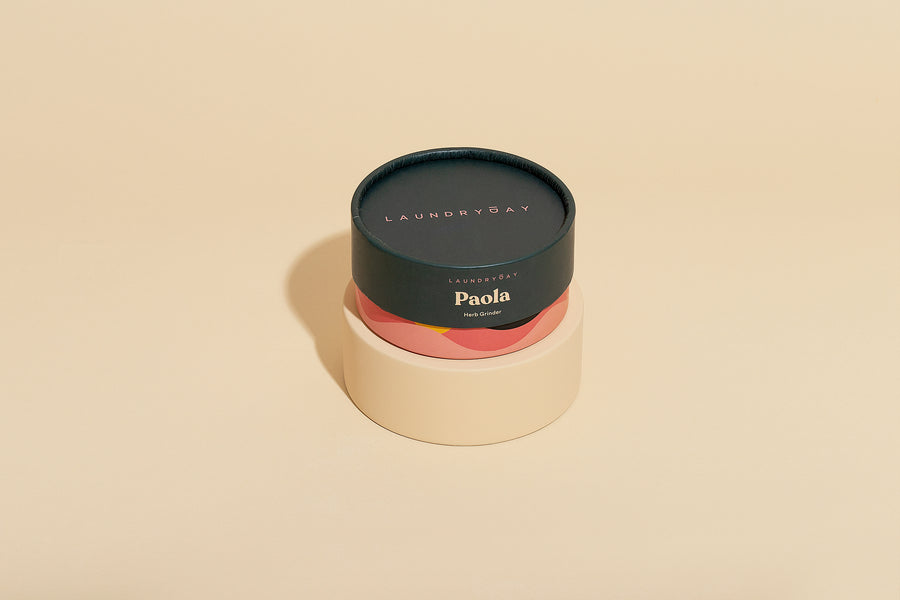 Paloa Herb Grinder- Brushed Gold