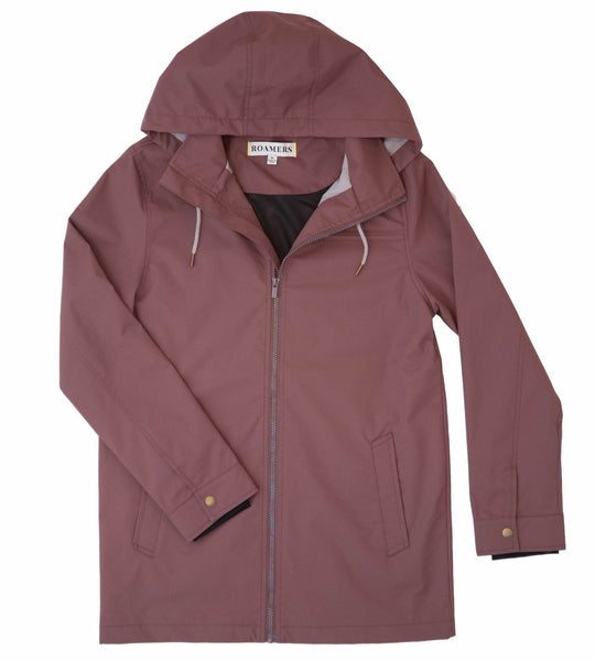 Partington Raincoat- Mauve