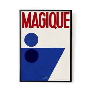 Splash of Magique Art Print - A3 (16.5 x 11.7)