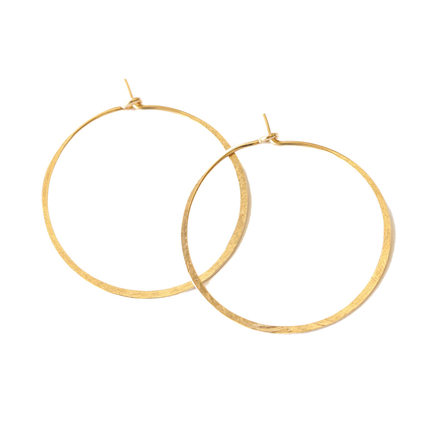 The Perfect Hoop Earrings-Gold