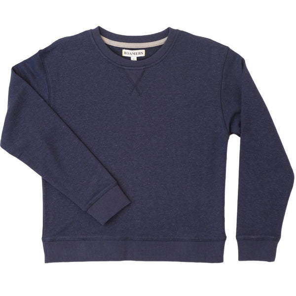 Seaside Terry Sweatshirt - Navy