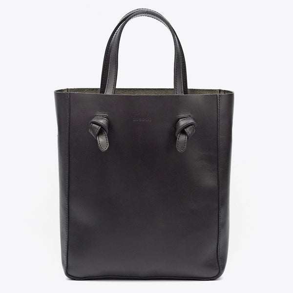 Simon Crossbody Tote- Noir