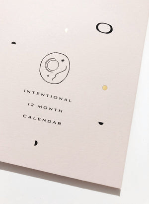 2020 Intentional Wall Calendar