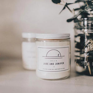 Baja Sandalwood + Floral Candle- 8 oz.