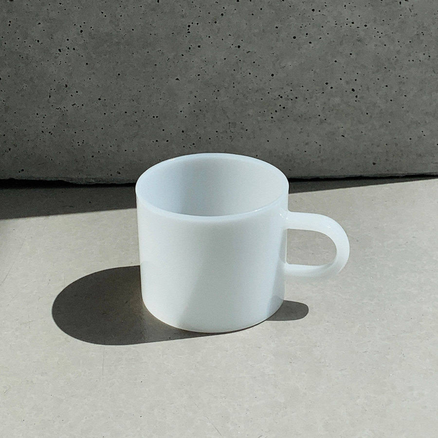 Lotta White Jade Coffee Cup- 8 oz