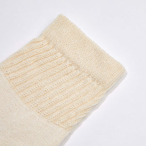Organic Cotton Ankle Socks- Natural