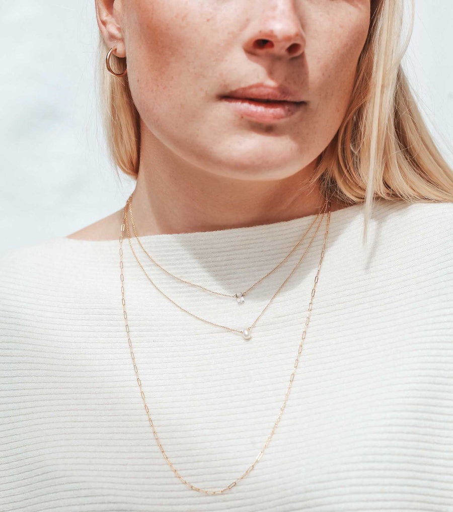 Sophie Layering Necklace- 14K Gold