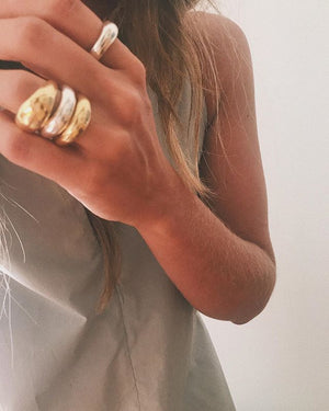 Siren Ring- 14K Gold Vermeil