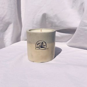 Smoked Vanilla + Wood Concrete Candle - 6 oz