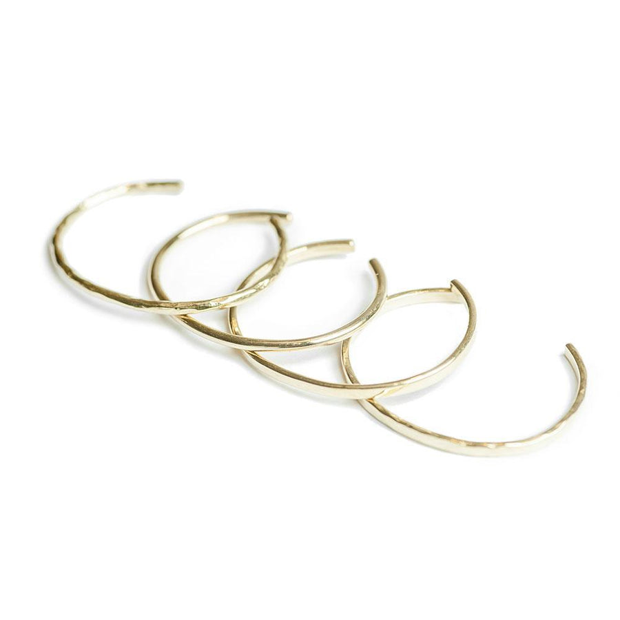 Delicate Brass Bangles- Set of 4