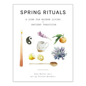 Spring Rituals Zine- Print + Digital Download