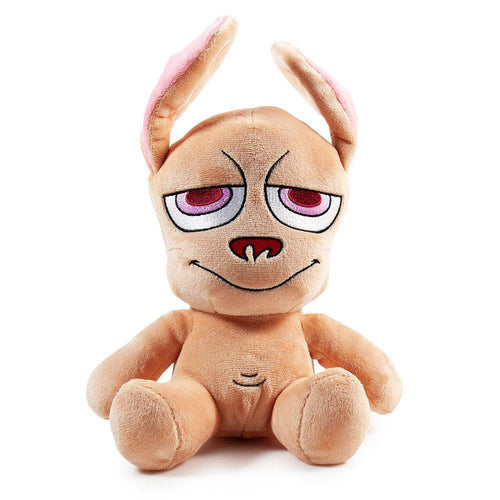 Kidrobot Ren & Stimpy REN PLUSH STUFFED ANIMAL - Nickelodeon 90S PHUNNY
