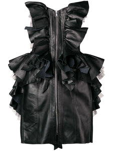 Natasha Zinko Ruffle Corset Dress