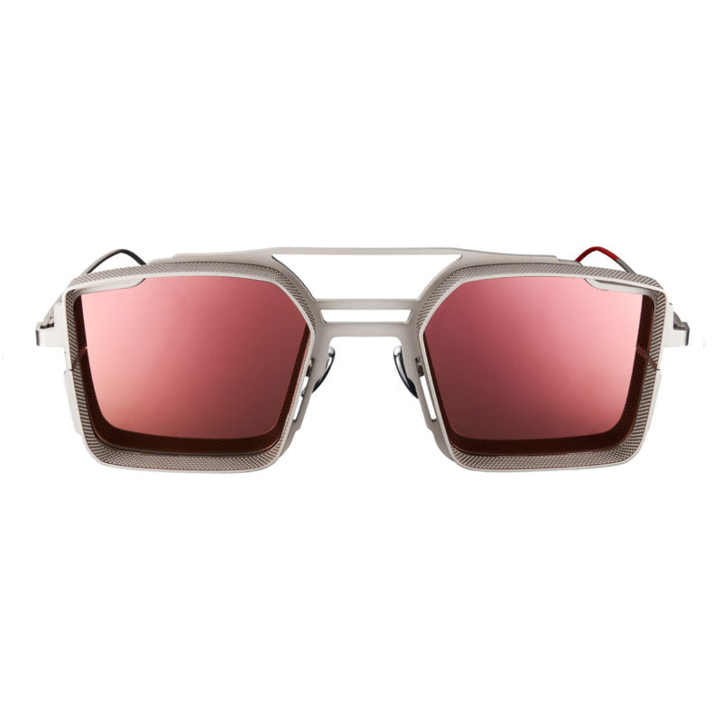 VYSEN Eyewear LUIGI Silver/Rose Gold Sunglasses
