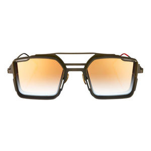 VYSEN Eyewear LUIGI Green/Gold Sunglasses