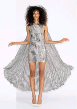 Ashish Rajasthan Silver Cape Dress