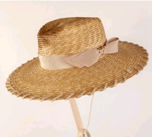 Ruslan Baginskiy Burned Fedora Hat Natural Straw