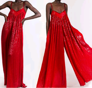 ASHISH sequin flared jumpsuit