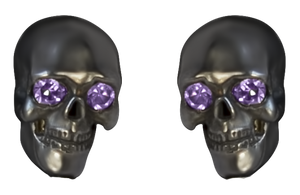 "DD-000003  Djanelli Jewelry ""Scull earrings"""