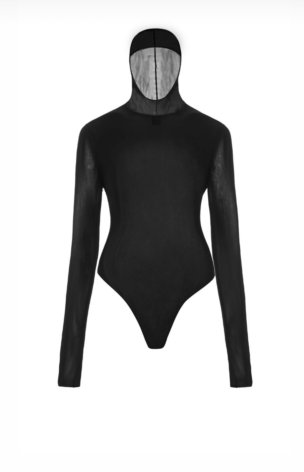 Tender and Dangerous Bodysuit with Hood