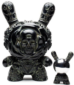 "KidRobot Clairvoyant Dunny 20"" Antique Arcane collection"