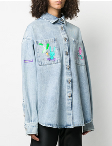 Natasha Zinko Denim LS Shirt