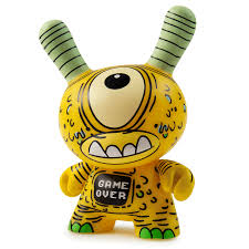 "KIDROBOT X CLUTTER KAIJU DUNNY BATTLE 3"" MINI FIGURE SERIES"