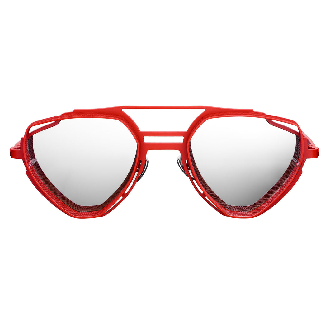 VYSEN Eyewear ENZO Red/Silver Sunglasses