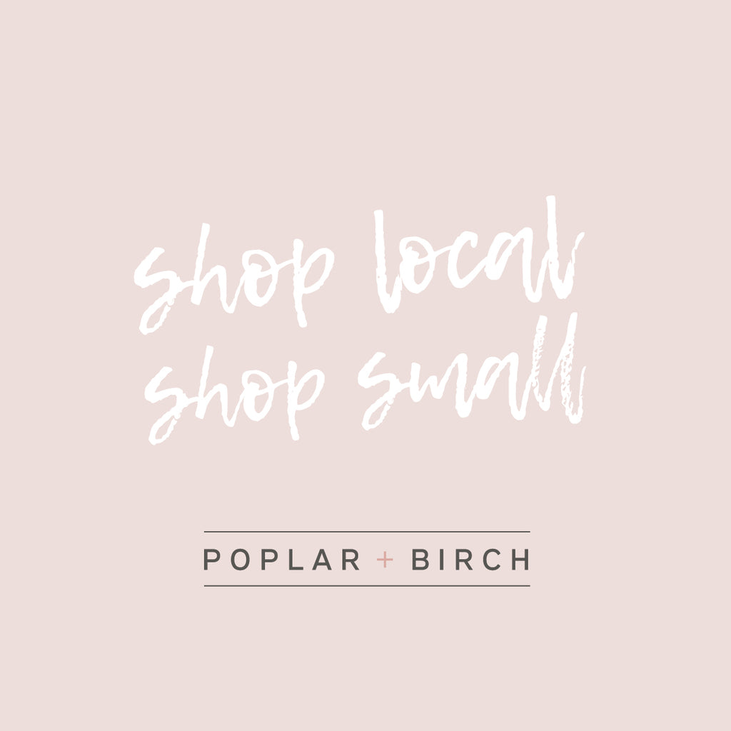 The Importance of Shopping Local and Small