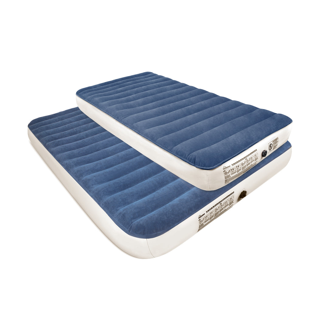 SoundAsleep Camping Series Air Mattress with Eco-Friendly PVC - Included Rechargeable Air Pump - Twin Size