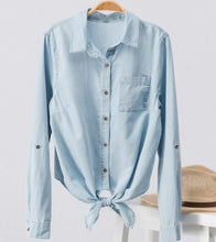 Anna Denim Blouse