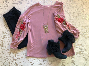 The Rose Blouse - zboutiqueokc