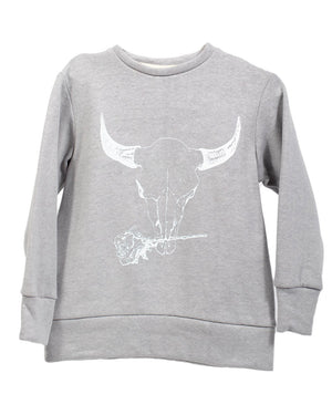 Crew Sweater | Shadow Bison
