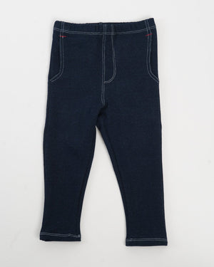 Jackrabbit Trouser | Indigo Denim French Terry