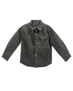 Weekender Jacket | Olive Waxed Cotton