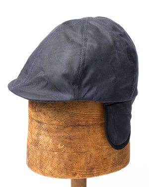 Duckbill Cap | Navy Waxed Cotton