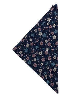 Bandana | Navy Wildflowers